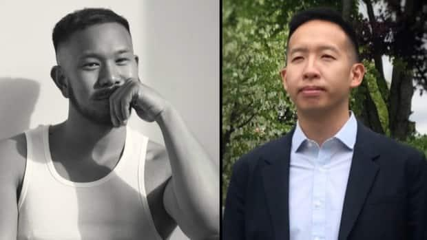 Strangers to one another, but acutely aware of the suffering the Asian community has faced recently, both Carlyle Chan and Steven Ngo are finding ways to protect their communities. (Carl Ostberg and James Mulleder/CBC News - image credit)