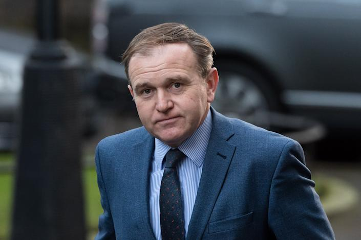 LONDON, UNITED KINGDOM - DECEMBER 15, 2020: Secretary of State for Environment, Food and Rural Affairs George Eustice arrives in Downing Street in central London to attend Cabinet meeting held at the Foreign Office on 15 December, 2020 in London, England. The UK and EU leaders have agreed to carry on post-Brexit trade talks and vowed to go 'extra mile' to try and reach a deal, with less than three weeks until the end of the transition period.- PHOTOGRAPH BY Wiktor Szymanowicz / Barcroft Studios / Future Publishing (Photo credit should read Wiktor Szymanowicz/Barcroft Media via Getty Images)