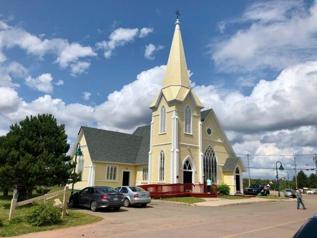 St. Anne's Church in Lennox Island was built in 1895.  (Jane Robertson/CBC - image credit)