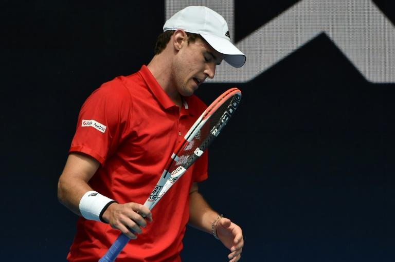 World number three Dominic Thiem crashed to defeat at the ATP Cup