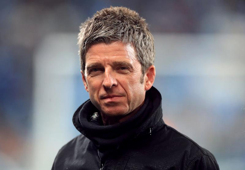 Noel Gallagher before the Premier League match at the Etihad Stadium, Manchester (Photo by Mike Egerton/PA Images via Getty Images)