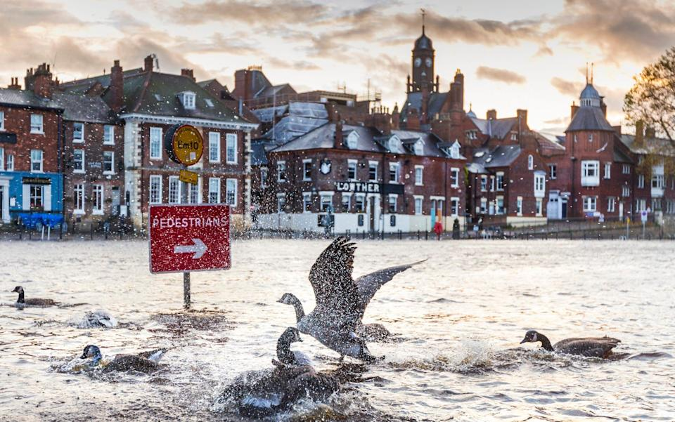 York is set to face bad floods as the snow melts - Andrew McCaren/LNP