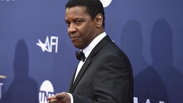 Honoree Denzel Washington arrives at the 47th AFI Life Achievement Award at the Dolby Theatre on Thursday, June 6, 2019 in Los Angeles. (Photo by Jordan Strauss/Invision/AP)