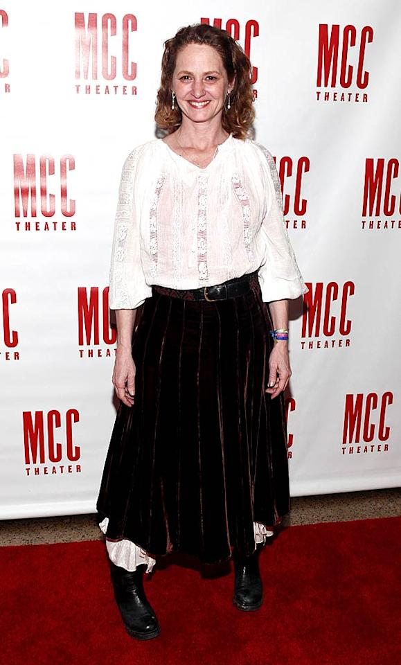 """Speaking of catastrophic ensembles, check out the """"Pirates of the Caribbean""""-inspired look Oscar winner Melissa Leo (""""The Fighter"""") recently wore to the MCC Theater's 25th Anniversary Gala at the Hammerstein Ballroom in NYC. Not even Jack Sparrow would be caught dead in that ghastly getup! Brian Ach/<a href=""""http://www.wireimage.com"""" target=""""new"""">WireImage.com</a> - March 14, 2011"""
