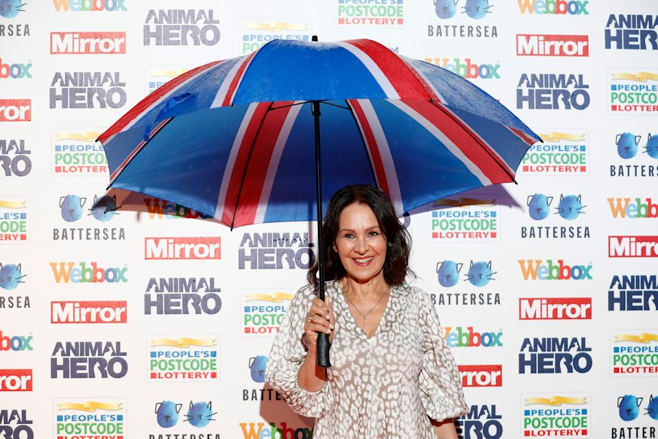 Arlene Phillips attending the Mirror Animal Hero Awards 2019, in partnership with People's Postcode Lottery and Webbox, held at the Grosvenor House Hotel, London. (Photo by David Parry/PA Images via Getty Images)