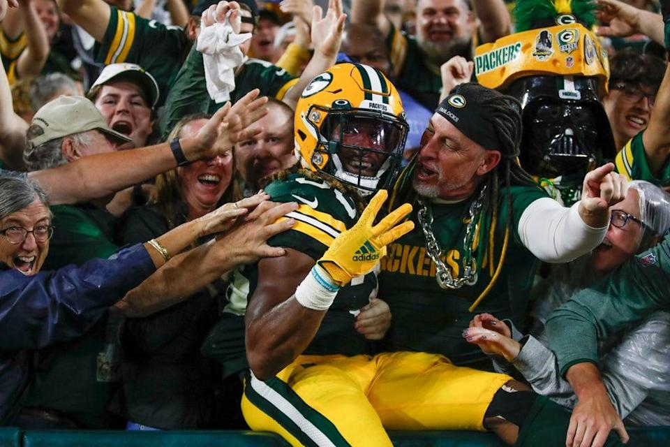 APTOPIX Lions Packers Football (Copyright 2021 The Associated Press. All rights reserved.)