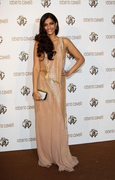 Sonam Kapoor at Roberto 'I Am The Party' Cavalli