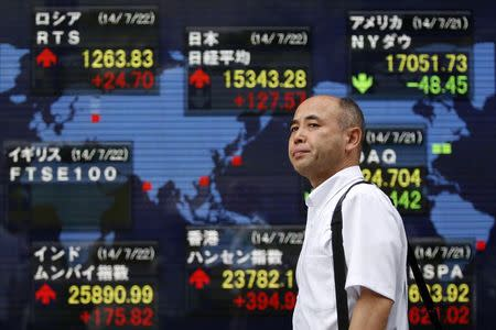 Asian equities rose in morning trade on Tuesday