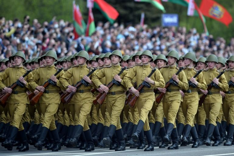 President Lukashenko has played down the coronavirus and went ahead with a military parade in Minsk in May to mark the 75th anniversary of the end of World War II