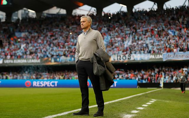 <span>Jose Mourinho cut a frustrated figure at times</span> <span>Credit: REUTERS </span>