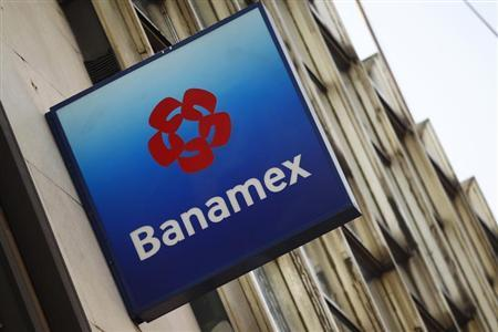 A logo of Banamex is seen in Mexico City