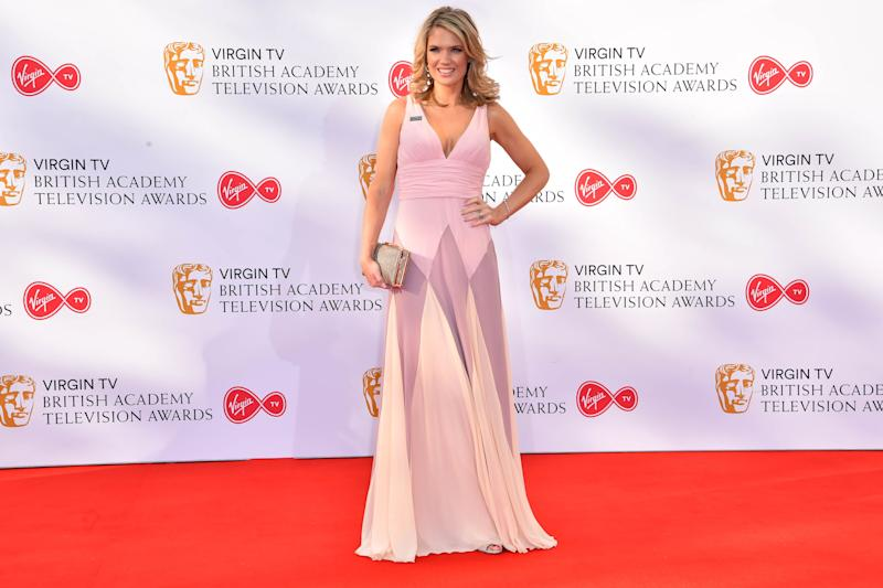 Charlotte Hawkins attending the Virgin TV British Academy Television Awards 2018 held at the Royal Festival Hall, Southbank Centre, London.
