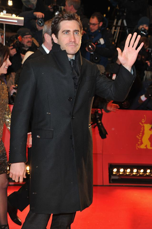"BERLIN, GERMANY - FEBRUARY 09:  Jury member Jake Gyllenhaal attends the ""Les Adieux De La Reine"" Premiere during day one of the 62nd Berlin International Film Festival at the Berlinale Palast on February 9, 2012 in Berlin, Germany.  (Photo by Pascal Le Segretain/Getty Images)"