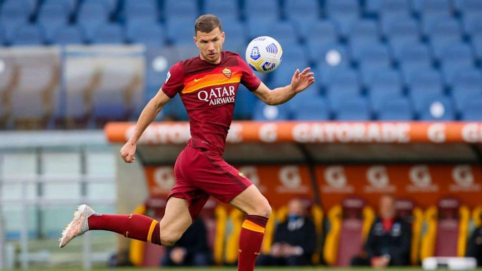 Edin Dzeko | Giampiero Sposito/Getty Images