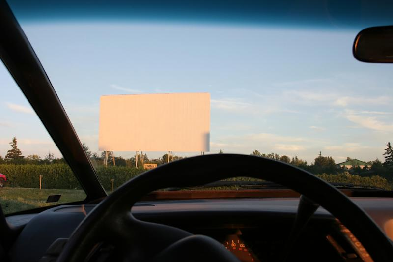 Drive through cinemas could save our summer. (Getty Images)