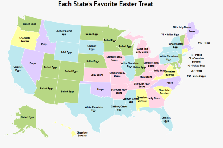 popular easter candy