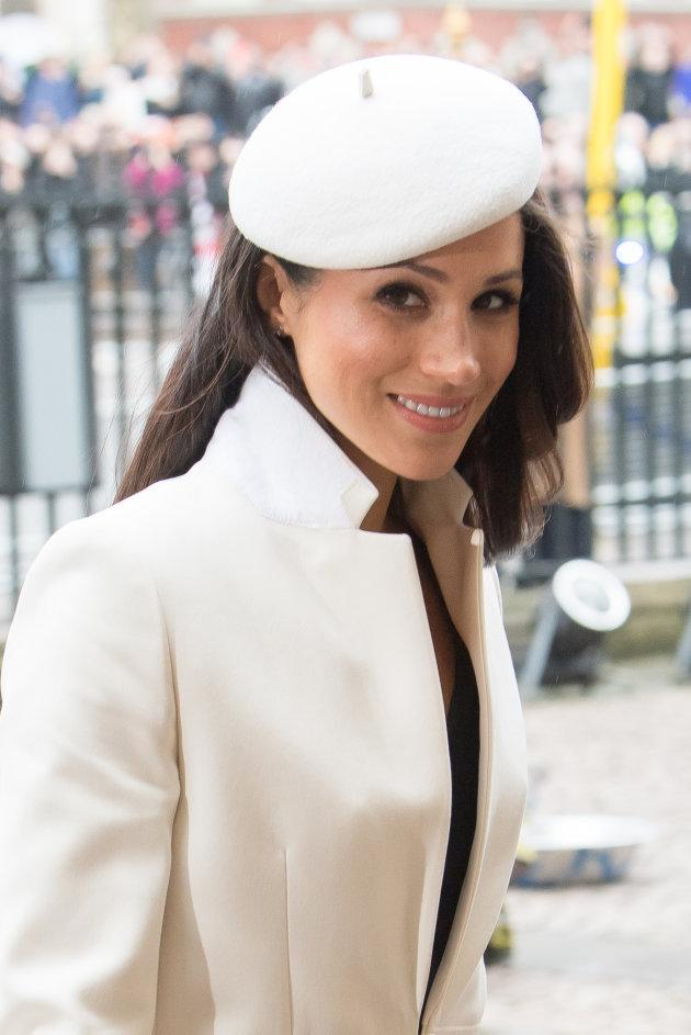 Meghan Markle attends the 2018 Commonwealth Day service at Westminster Abbey on March 12.
