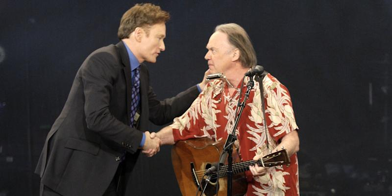 Listen to Neil Young on Conan O'Brien's Podcast