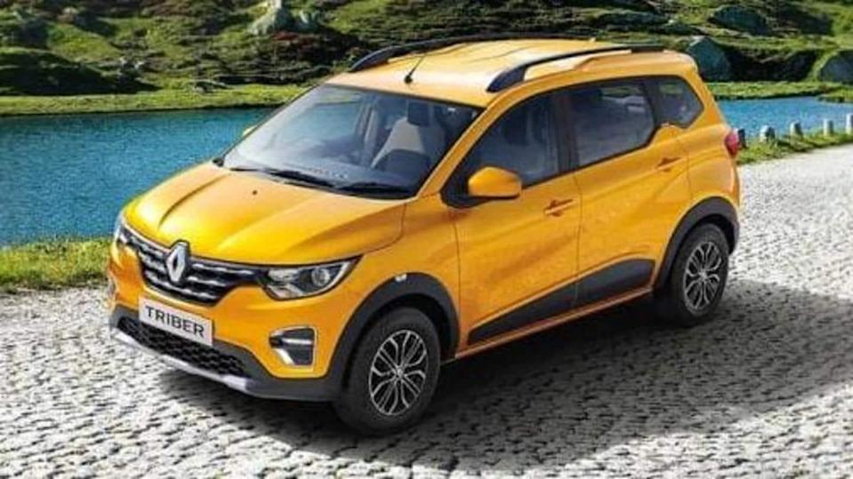 Prior to launch, details of 2021 Renault Triber SUV leaked
