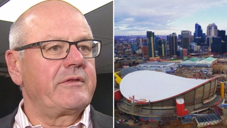 'We're not in politics': Calgary Flames president says arena talk not aimed at influencing election