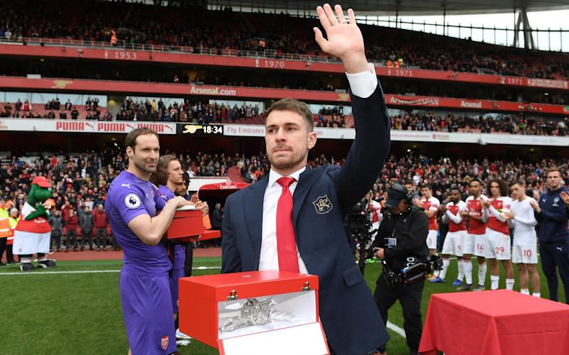 Ramsey has joined Juventus after 11 years at the Emirates - Arsenal FC