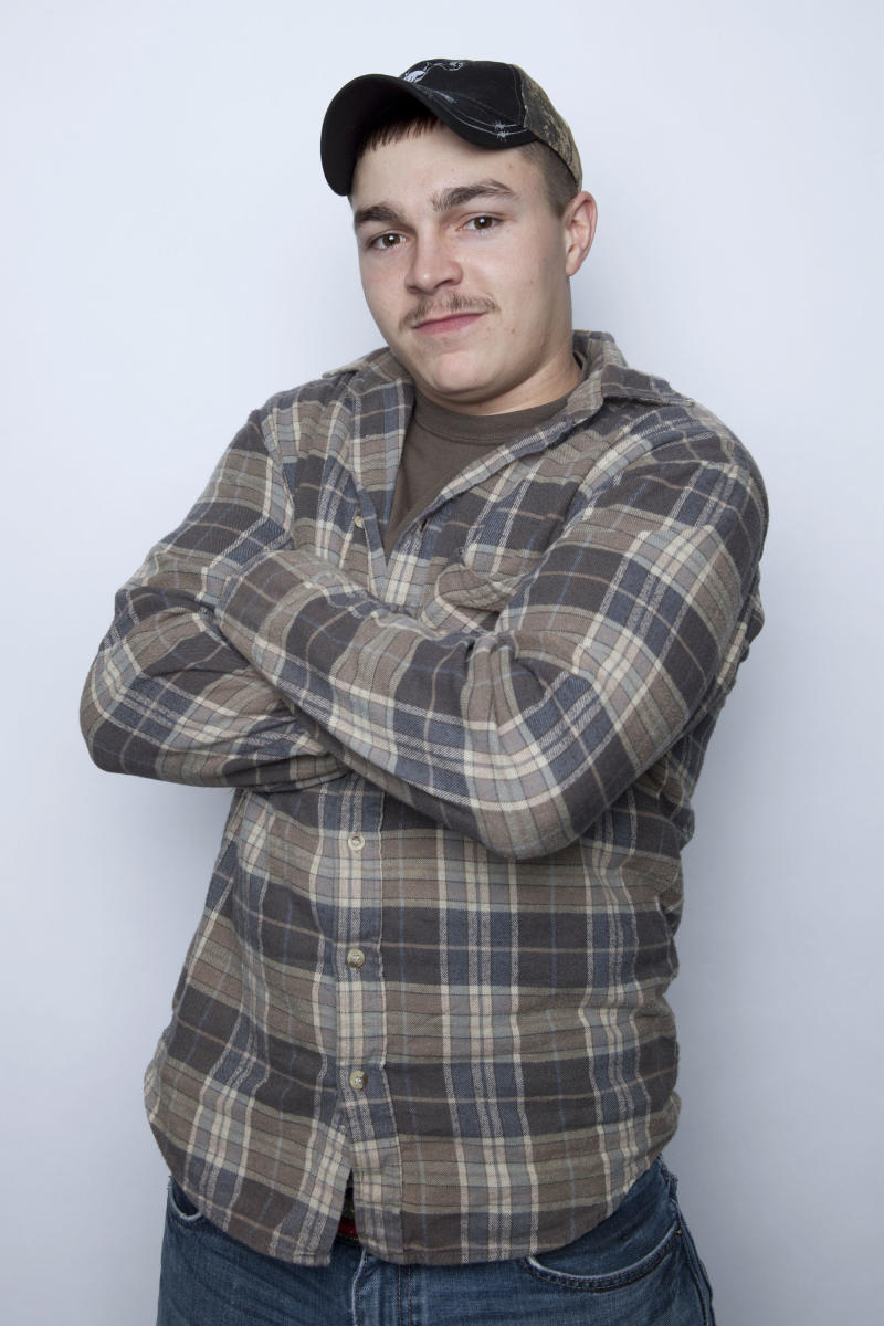 """FILE - This Jan. 2, 2013 file photo shows Shain Gandee, from MTV's """"Buckwild"""" reality series in New York. Gandee was found dead Monday, April 1, in a sport utility vehicle in a ditch along with his uncle and a third, unidentified person, authorities said. (Photo by Amy Sussman/Invision/AP, file)"""