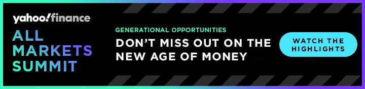 Yahoo Finance's conference on generational opportunities, October 10, 2019.