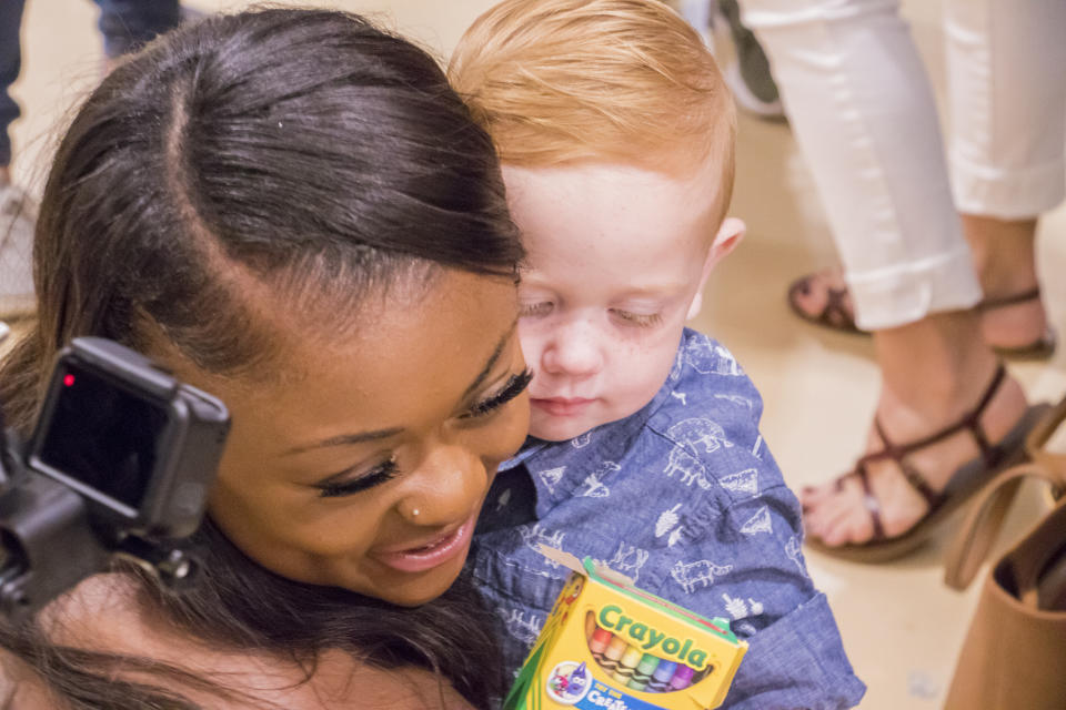 Tyra Winters, 17, is being hailed a hero after she saved a two-year-old boy from choking during a homecoming parade. (Photo: Rockwall ISD)