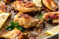 """<p>Lemon pepper is simple, but oh so delicious.</p><p>Get the recipe from <a href=""""https://www.delish.com/cooking/recipe-ideas/recipes/a54789/lemon-pepper-wings-recipe/"""" rel=""""nofollow noopener"""" target=""""_blank"""" data-ylk=""""slk:Delish"""" class=""""link rapid-noclick-resp"""">Delish</a>.</p>"""