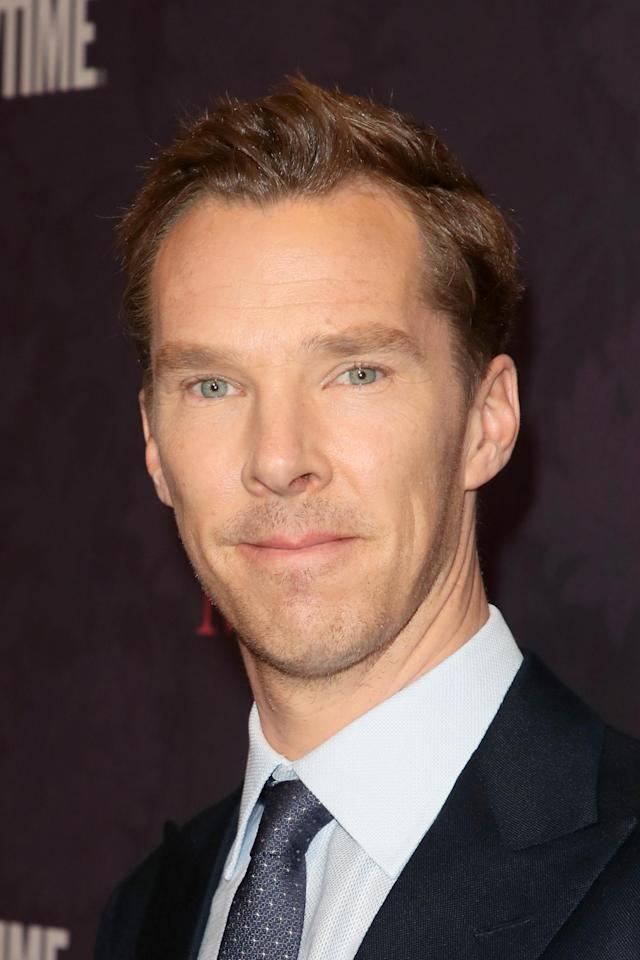 Benedict Cumberbatch saved a delivery guy from an attack. (Photo: David Livingston/Getty Images)