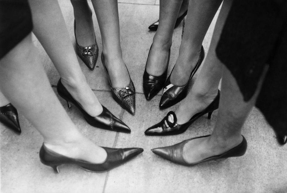 <p>Don't ask why these elongated pointy-toe pumps are called winkle pickers. I don't know, and I'm not sure I want to. </p>