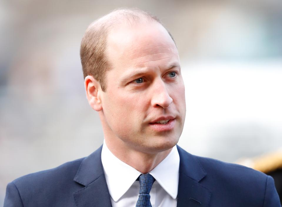 LONDON, UNITED KINGDOM - DECEMBER 11: (EMBARGOED FOR PUBLICATION IN UK NEWSPAPERS UNTIL 24 HOURS AFTER CREATE DATE AND TIME) Prince William, Duke of Cambridge attends a Service of Thanksgiving for the life and work of Sir Donald Gosling at Westminster Abbey on December 11, 2019 in London, England. Sir Donald Gosling, Chairman of National Car Parks (NCP) an honorary Vice-Admiral of the Royal Navy and former owner of the motor yacht Leander G, died on September 16 2019. (Photo by Max Mumby/Indigo/Getty Images)