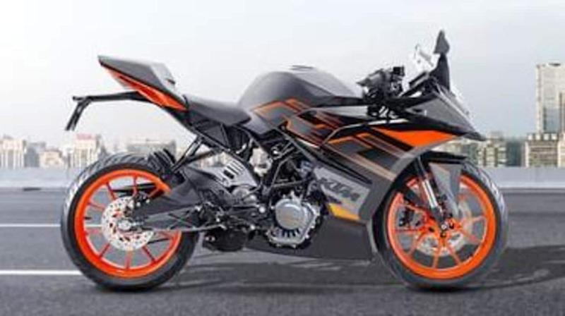 KTM RC 200 to get new color option in India