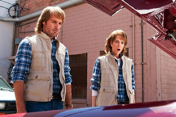 Will Forte and Kristen Wiig in 'MacGruber' (Universal)