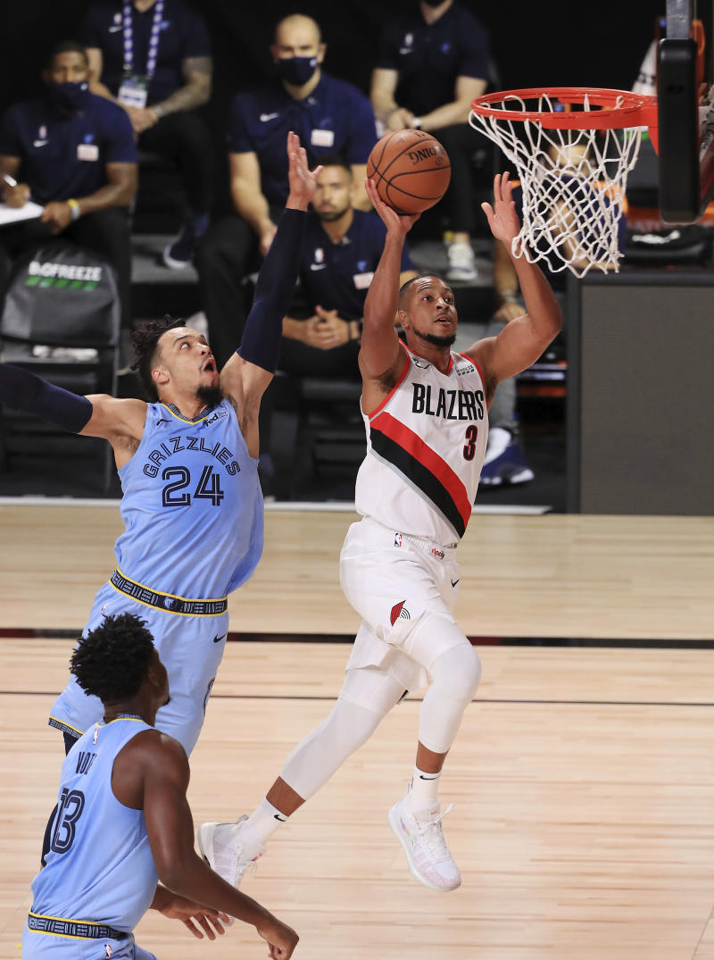 GRIZZLIES TRAIL BLAZERS