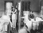 """<a href=""""http://movies.yahoo.com/movie/it-happened-one-night/"""" data-ylk=""""slk:IT HAPPENED ONE NIGHT"""" class=""""link rapid-noclick-resp"""">IT HAPPENED ONE NIGHT</a> (1934) <br>Directed by: <span>Frank Capra</span> <br>Starring: <span>Clark Gable</span> and <span>Claudette Colbert</span>"""