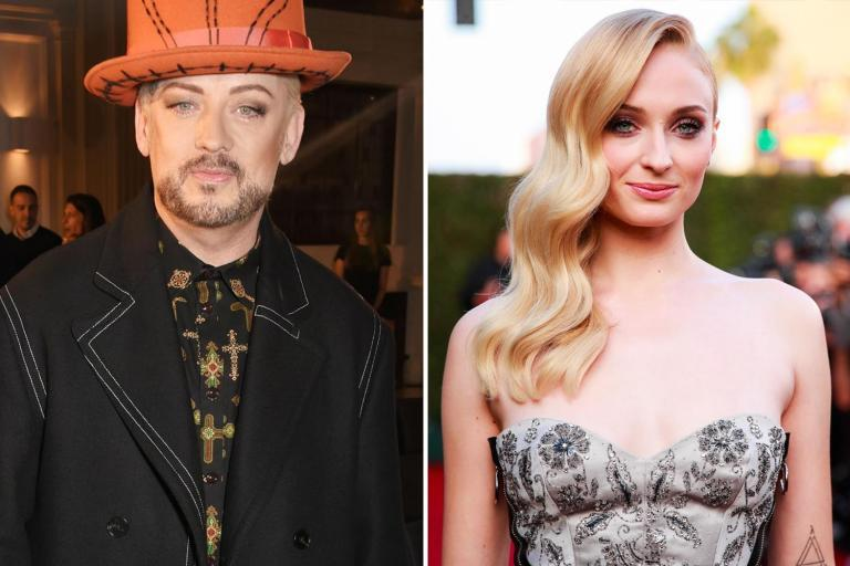 "Sophie Turner has said that she would be ""so down"" to play Boy George in a forthcoming biopic of his life.Boy George revealed that the Game of Thrones actress is ""one of the most interesting suggestions"" to play him on the big screen even though it would likely ""upset people"".""It's really strange but that's been a suggestion,"" the musician told Australian radio show Fizzy & Wippa. ""I think that will upset because which I quite like.""[People will say]: 'Oh she can't play you, she's a woman! [But] when I was 17, I would have loved to be her! That was the ambition!""> I'm SO down @BoyGeorge https://t.co/6Ci0VDfmtB> > — Sophie Turner (@SophieT) > > 17 June 2019Turner, best known for her role as Sansa Stark in the HBO drama, responded to the rumours on Twitter, sharing Boy George's comments and adding ""I'm SO down @BoyGeorge.""One person not so enthusiastic about Turner's potential role was Piers Morgan, who launched into an on-air rant about how that casting would need a ""reality check"" because of the sex scenes.""Boy George, in his biopic, presumably at some stage has sex with people. How is he going to do that if he doesn't have the equipment?"" Morgan said on Good Morning Britain.""There are reality checks to Sophie Turner playing Boy George. She's a woman. How is she going to have sex? Does Wonder Woman get played by a man? No. ""When someone is a famous man like Boy George how can it be a women playing? Create your own character.""He added that it was ""insidious"" that women wanted to play male characters, calling it ""creepy"" and urging Turner to ""leave [it] alone and not take male popstars"". A biopic of the Culture Club frontman was announced last month, following the recent success of Bohemian Rhapsody and Rocketman."