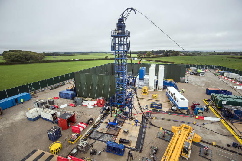 Cuadrilla halts fracking activity after latest quake