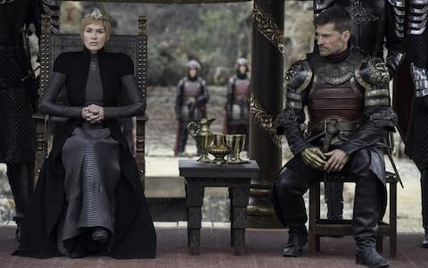 Cersei and Jaime meet the others at King's Landing - Credit: HBO/HBO