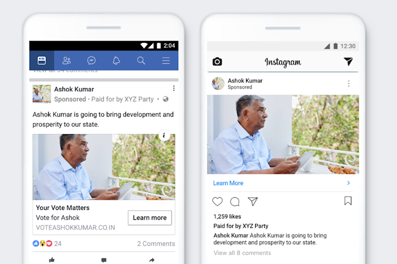 Cracking Down on Pro-BJP And Pro-Congress Pages Shows Facebook is Not Messing About