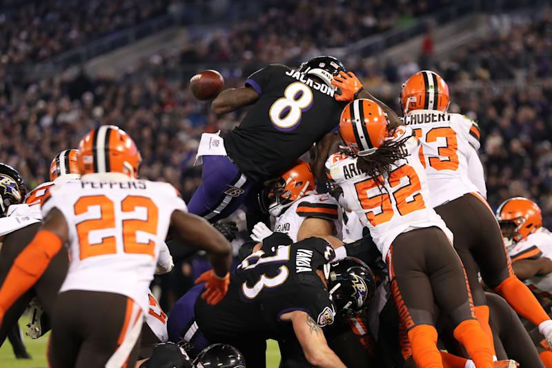 officials costs browns a td with early whistle against ravens