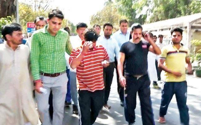 Denied ticket to contest MCD polls, AAP worker attempts self immolation