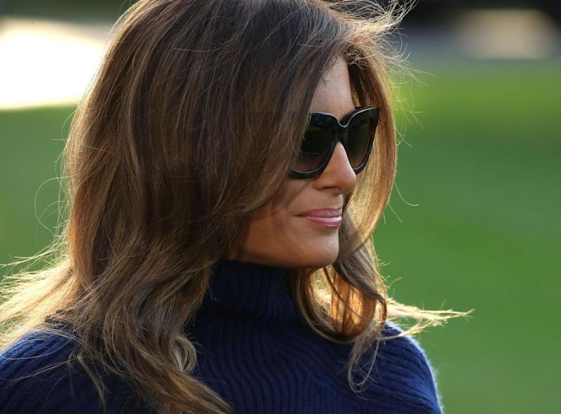 Melania, is that really you? Photo: Getty