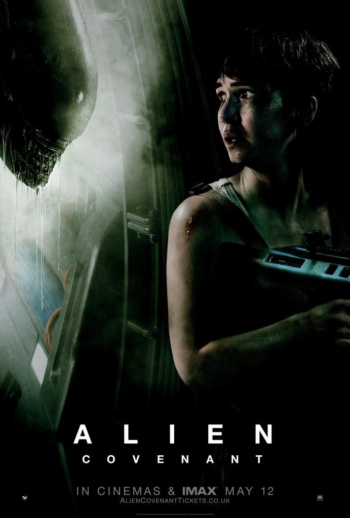 The new Alien: Covenant poster - Credit: 20th Century Fox
