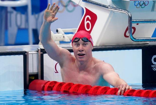But Dean beat his Tokyo 2020 flatmate by 0.04 seconds to clinch gold