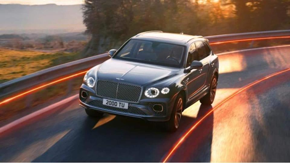 2021 Bentley Bentayga launched in India at Rs. 4.1 crore