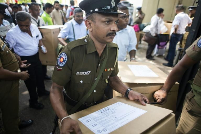 Some 85,000 police were on duty to ensure the smooth running of the polls