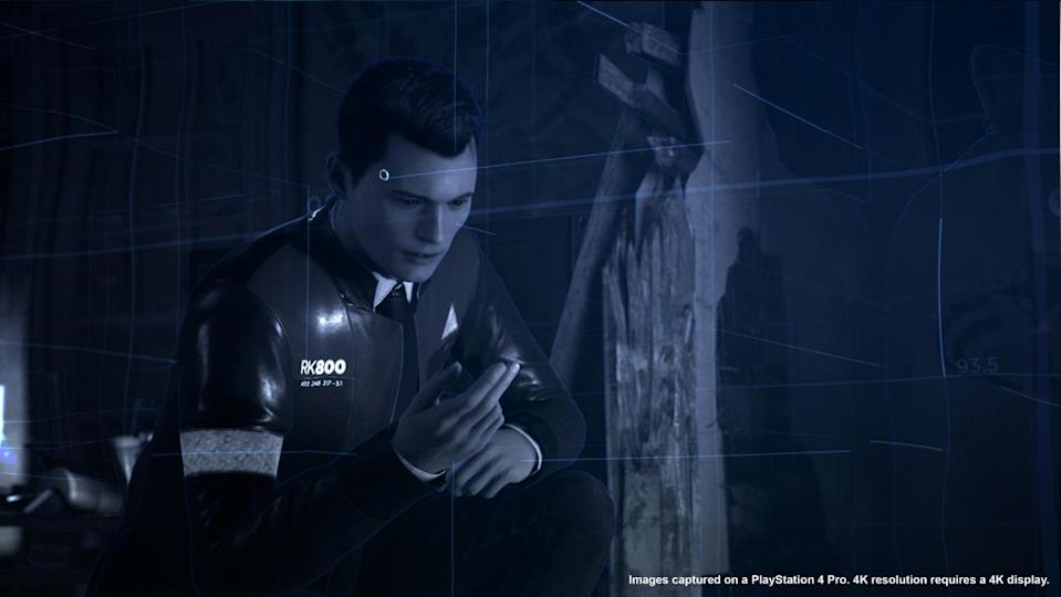 Connor is investigating instances of android deviance throughout Detroit.