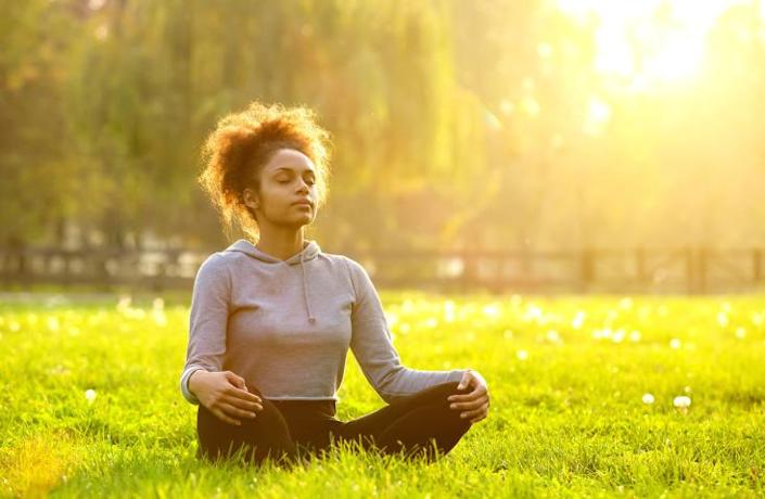 """<p>If you want an all-natural way to get tired, just breathe. Using a method developed by Dr. Andrew Weil, called the """"4-7-8 breathe technique,"""" you can relax your mind via your lungs. Basically, you exhale fully, count to four, inhale fully, count to seven, and and exhale slowly, counting to eight. Dr. Weil calls it """"a natural tranquilizer for the nervous system,"""" and claims it helps you fall asleep because it rapidly fills your body with uber-relaxing waves of heightened oxygen. <i>Credit: Thinkstock </i></p><p><b><a href=""""http://www.supercompressor.com/home/how-to-hack-your-keurig-machine-and-make-better-k-cup-coffee?utm_source=yahoo&utm_medium=syn&utm_term=web&utm_campaign=makers"""" rel=""""nofollow noopener"""" target=""""_blank"""" data-ylk=""""slk:More: How to Hack a Keurig and Make Your K-Cup Coffee Not Suck"""" class=""""link rapid-noclick-resp"""">More: How to Hack a Keurig and Make Your K-Cup Coffee Not Suck</a></b></p>"""