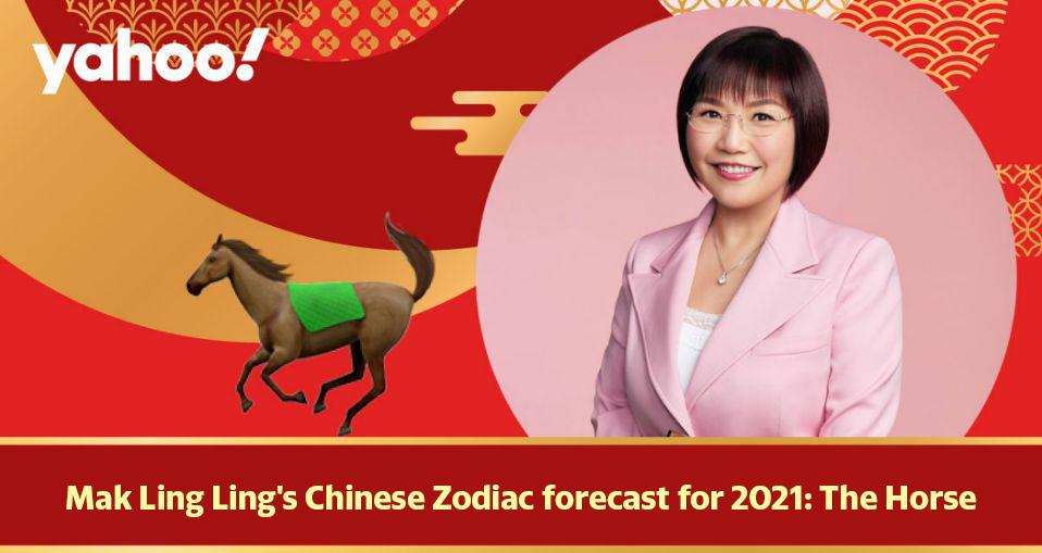 Mak Ling Ling's Chinese Zodiac forecast for 2021: The Horse